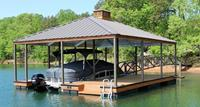 Click to view album: Hip Roof Docks